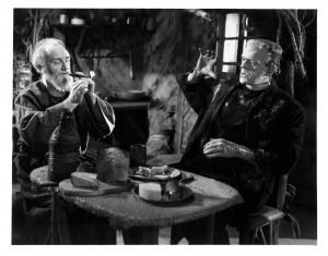 Monstrum a slepec - jedna z nejsilnějších a nejvtipnějších dvojic filmu.