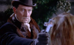 Van Helsing při práci poprvé.