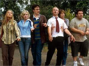 Film je plný zombie.