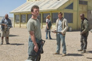 Skoro vypadají jako banda přeživších z nějakého postapokalyptického zombie hororu. Ale to je jen Nové Mexiko.