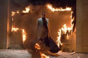 Sestoupil Michael a Země začala hořet.