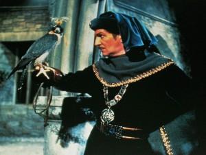 Ani dravec se Prosperovi nedokáže podívat do očí.