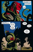 Ukázka z komiksu Hellboy: Sémě zkázy.