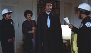 Ve ztvárnění hraběte se William Marshall inspiroval u Bely Lugosiho.