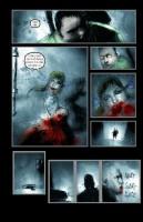 Ukázková stránka komiksu 30 dní dlouhá noc.