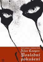 Přebal českého vydání komiksu Alice Cooper: Poslední pokušení.