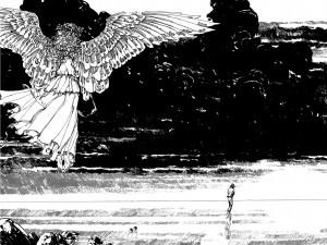 Ukázkové stránky z komiksu Alice Cooper: Poslední pokušení.
