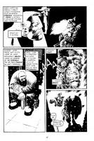 Ukázka z komiksu Sin City 6: Chlast, děvky a bouchačky.