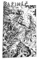 Ukázková strana z komiksu Bažináč.