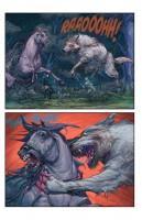 Ukázková strana z komiksu Solomon Kane: Ďáblův hrad.