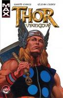 Obálka českého vydání komiksu Thor: Vikingové.