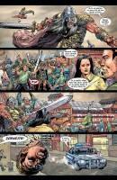 Ukázka z českého vydání komiksu Thor: Vikingové.