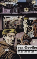 Ukázka z českého vydání komiksu Hellblazer: Syn člověka.