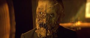 Scarecrow - jednoduché, méně komiksové a pořádně děsivé.