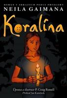 Obálka českého vydání komiksu Koralina.