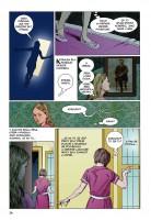 Ukázka z českého vydání komiksu Koralina.