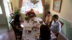 Trinity jeho šťastná rodina.