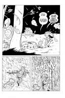 Ukázka z českého vydání komiksu Kůstek: Oči bouře.