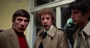 Ano, ten vlevo je opravdu Spock alias Leonard Nimoy. Nebo spíš obráceně?