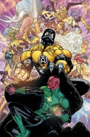 Ukázková kresba ke komiksové sérii Green Lantern.
