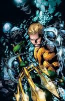 Ukázková kresba ke komiksové sérii Aquaman.