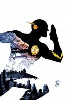 Ukázková kresba ke komiksové sérii The Flash.