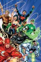 Ukázková kresba ke komiksové sérii Justice League.