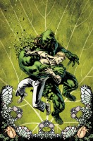 Ukázková kresba ke komiksové sérii Swamp Thing.