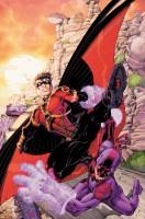 Ukázková kresba z komiksové série Teen Titans.