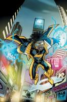 Ukázková kresba z komiksové série Static Shock.