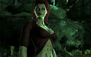 Poison Ivy je kočka i na monitoru.