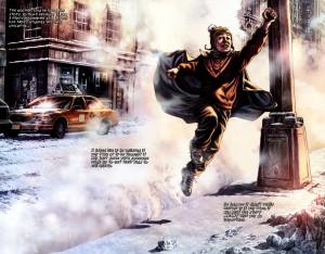 Ukázka z komiksu Batman: Noël.