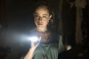 Pohledná Španělka v hlavní roli úvodní části filmu.