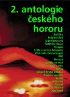 Obálka knihy 2. antologie českého hororu.