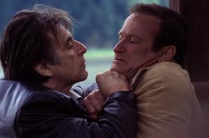 Dva skvělí herci - Al Pacino a Robin Williams.