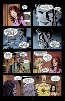 Ukázková strana amerického komiksu 30 Days of Night: 30 Days 'Til Death.