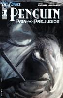 Obálka prvního dílu americké komiksové minisérie Penguin: Pride and Prejudice.