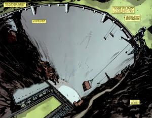 Ukázka z komiksové série American Vampire.