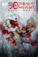 Ukázková obálka z komiksové minisérie 30 Days of Night: Night Again.