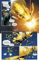 Ukázka z českého vydání komiksu Green Lantern: Žádný strach.