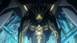 Setká se na své cestě peklem s různými monstry.