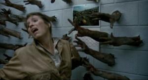 Jedna z nejděsivějších scén filmu.