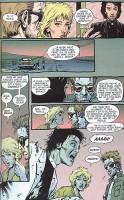 Ukázka z českého vydání komiksu Preacher: Jako pára nad Texasem.