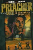 Obálka českého vydání komiksu Preacher: Až do konce světa.