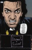 Ukázka z českého vydání komiksu Preacher: Až do konce světa.