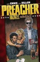 Obálka českého vydání komiksu Preacher: Křižáci.