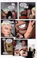 Ukázka z komiksové série Haunt.