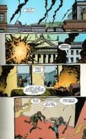 Ukázka z českého vydání komiksové sbírky Preacher: Konec iluzí.