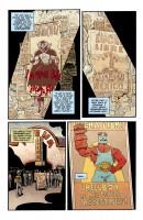 Ukázka z amerického vydání komiksového příběhu Hellboy: House of the Living Dead.