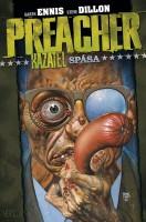 Obálka českého vydání komiksové sbírky Preacher: Spása.